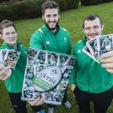 Ireland's First Rugby Trading Cards