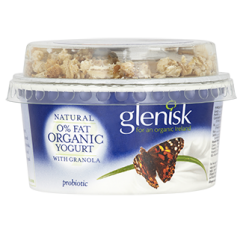 Organic 0% Fat Natural Yogurt & Granola