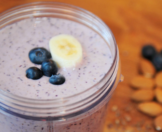 Blueberry Booster Smoothie
