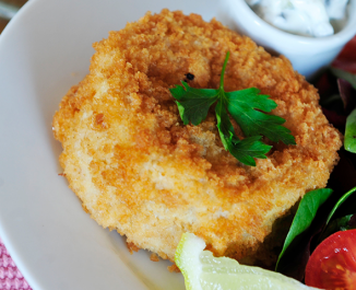 Fish Cakes with Greek Style Tartare Sauce