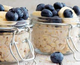 Goats Milk Overnight Oats