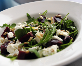 Beetroot, Feta and Rocket Salad