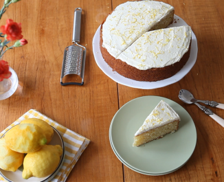Forkful Easy Lemon Cake