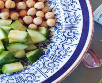 Middle-Eastern Lunchbox | Jar Salads