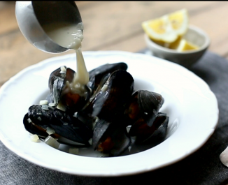 Forkful Mussels