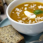 The Naked Blondie Creamy Spiced Butternut Squash Soup