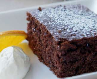 Tray Bake Chocolate Cake