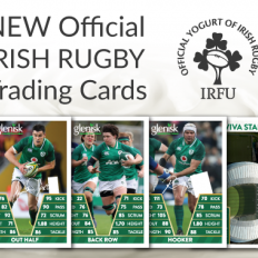 NEW Official Irish Rugby Trading Cards 2018/19