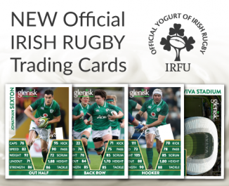 New Official Irish Rugby Trading Cards Collectors' Albums - out now!