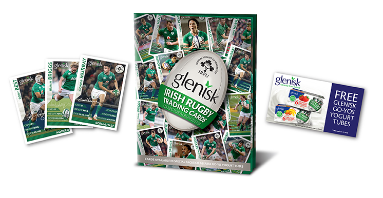 Glenisk Irish Trading Cards Starter Pack