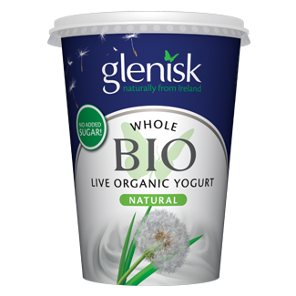 Organic Bio Whole Natural Yogurt