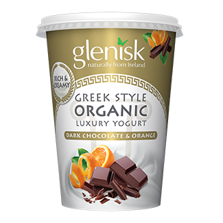 Organic Greek Style Dark Choc Orange