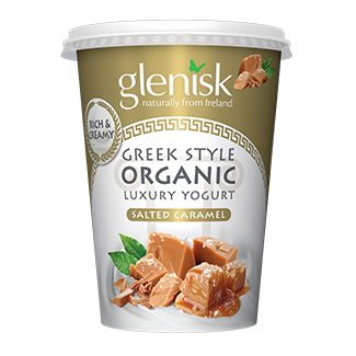 Organic Greek Style Salted Caramel
