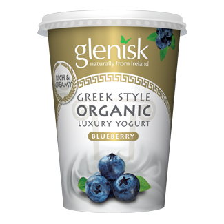 Organic Greek Style Blueberry Yogurt