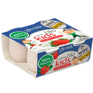 Organic Bio Kids Strawberry Yogurt