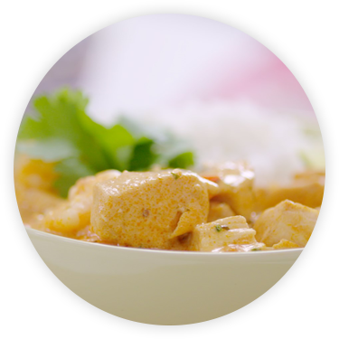 The Naked Blondie Creamy Thai Red Curry